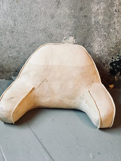 Kelly Bugden + Van Wifvat, 'White Pillow with Arm Rests: 'Untitled'', 2018