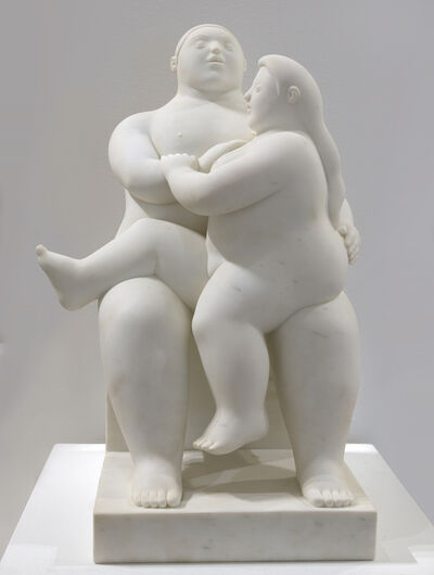 Fernando Botero, 'Lovers', 2010
