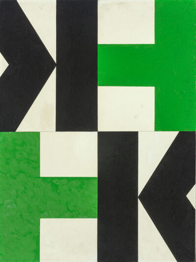 Charles Green Shaw, 'Quartet', 1970