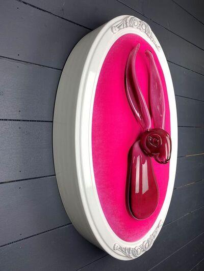 Hunt Slonem, 'Hot Pink', 2020