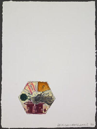 Robert Rauschenberg, '10,000' and Rising', 1982