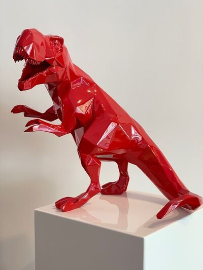 Richard Orlinski, 'T-Rex Resin Red', 2019