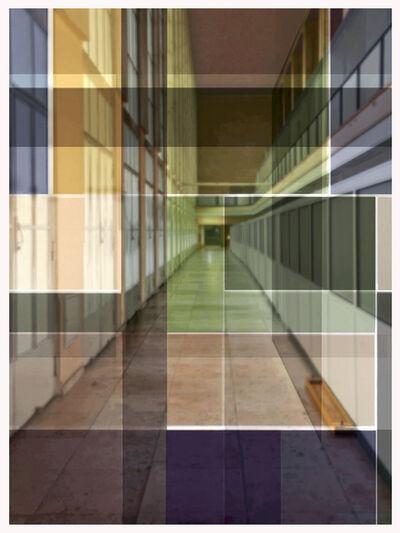 John Monteith, 'Platz #5空间#5', 2019