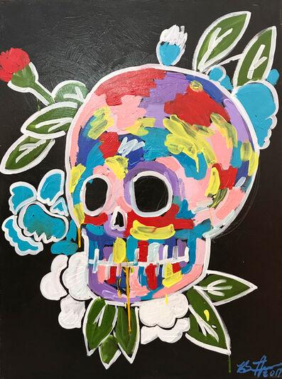 Bradley Theodore, 'Skull And Rose', 2017