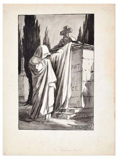 Jean Torthe, 'Les Sepulcres Secrete', Mid 20th Century