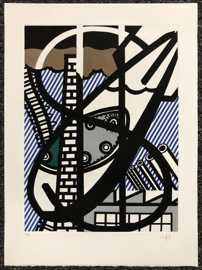 Roy Lichtenstein, 'Une Fenetre Ouverte sur Chicago', 1992