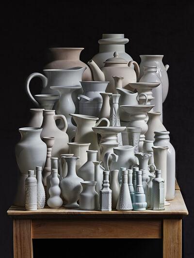 Abelardo Morell, 'White Vessels. Composition #3', 2020