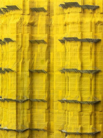 Peter Steinhauer, 'Yellow Cocoon #7, Hong Kong - 2011'