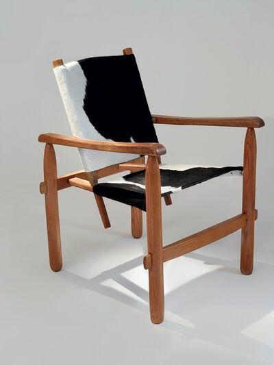 Charlotte Perriand, 'Cowhide skin Armchair', ca. 1950