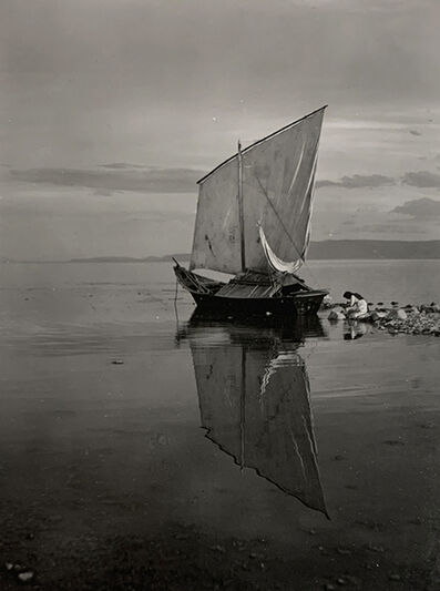 Ernest Knee, 'Harbor, Lake Chapala, Jalisco, Mexico', 1941