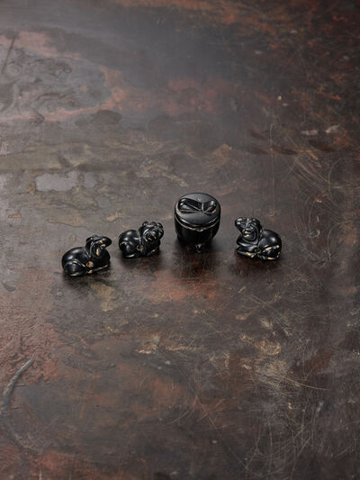 Unknown Chinese, 'Miniature coal beads', Eastern Han dynasty (25-220 CE)
