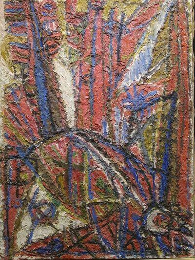 Moshe Tamir, 'Oiseau blessé', 1950