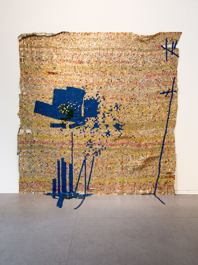 El Anatsui, 'Breaking News', 2015