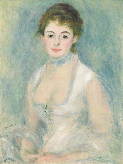 Pierre-Auguste Renoir, 'Madame Henriot ', ca. 1876