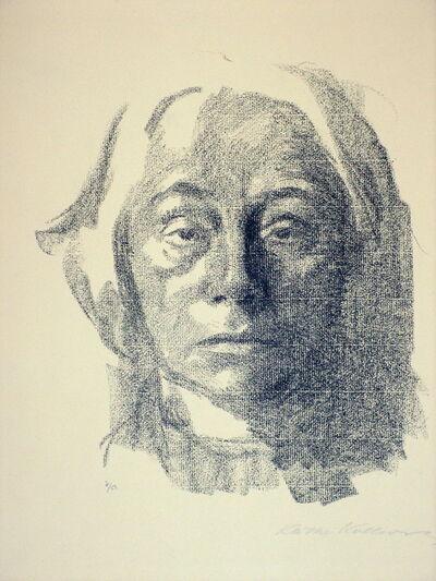 Käthe Kollwitz, 'Selbst (Self)  ', 1915
