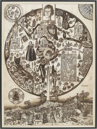 Grayson Perry, 'Map of Nowhere', 2008