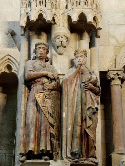 'Ekkehard and Uta, west chapel, Naumburg Cathedral', ca. 1245-60