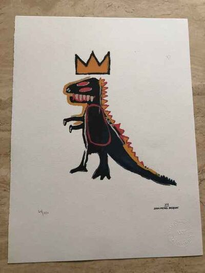 Jean-Michel Basquiat, 'Pez Dispenser Dinosaur', 1984