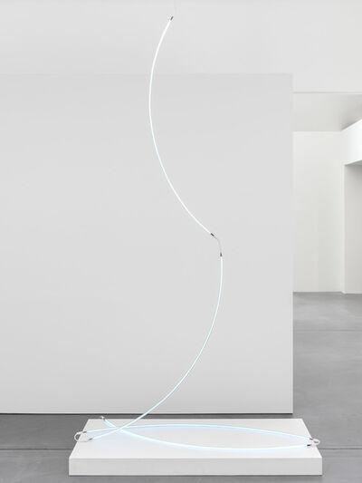 François Morellet, 'Serpentant haute tension', 2002