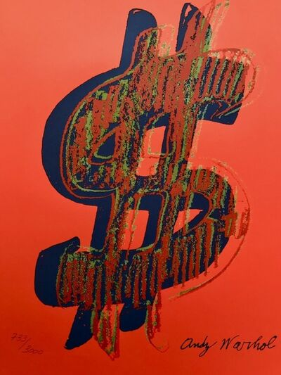 Andy Warhol, 'Dollar Sign', 1986