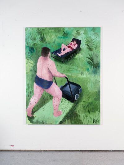 Audun Alvestad, 'The Lawnmover', 2018