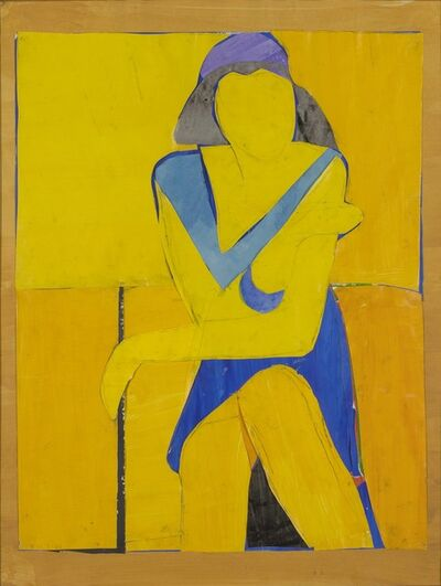 Richard Diebenkorn, 'Untitled (Yellow Collage)', 1966