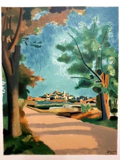 """André Derain, 'Lithograph """"Village de Provence"""" after André Derain', 1965"""