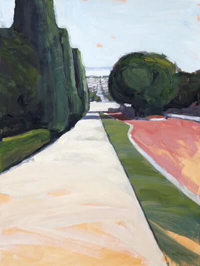 Kanna Aoki, 'Octavia Street From Lafayette Park, SF', 2017