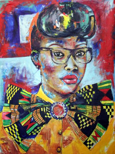 Mwamba Chikwemba, 'Afro-sisters V', 2016