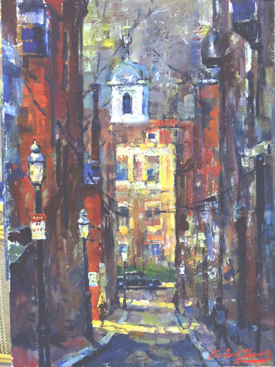 Christopher Zhang, 'Beacon Hill, Old Boston', 2019