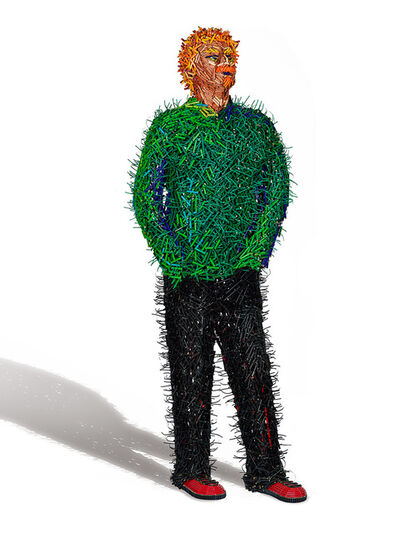 Federico Uribe, 'Green Shirt Man', 2014