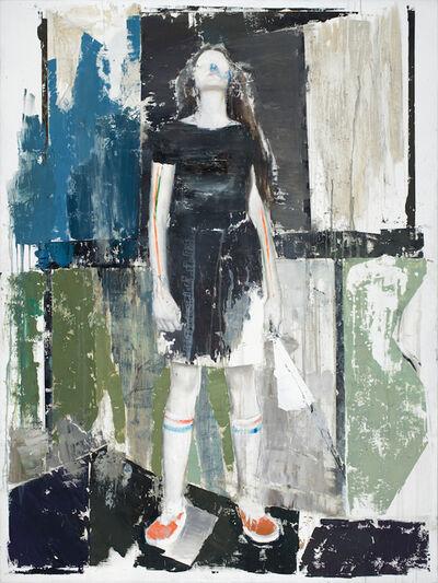 Alexander Tinei, 'Fille a l'éventail', 2016