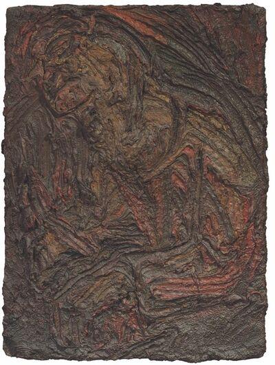 Leon Kossoff, 'Seated Figure, No. 2  125.5 x 98 cm  ()', 1959