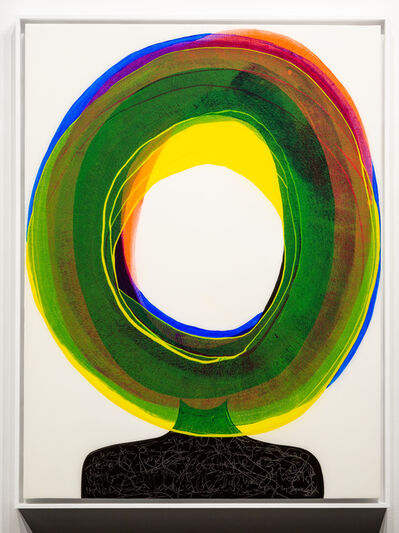 Ted Collier, 'Ted Collier, Figurative Circle Series, 4', 2020