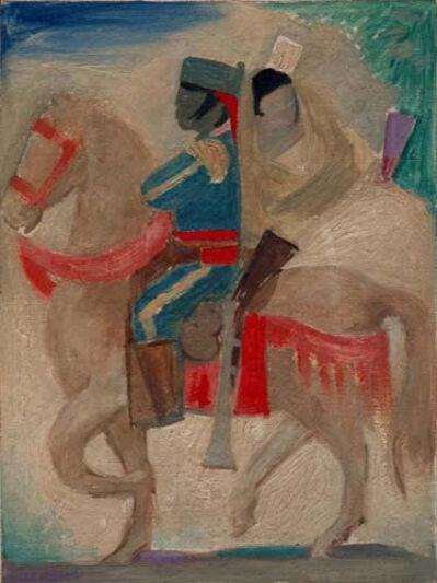 Jean Charlot, 'Carmen and Her Officer', 1941