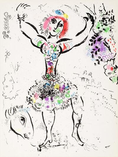 Marc Chagall, 'Le Jongleuse', 1960