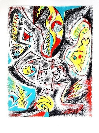 "André Masson, 'Original Lithograph ""Composition"" by André Masson', 1969"