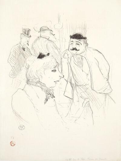 Henri de Toulouse-Lautrec, 'La Tige -- Moulin Rouge', 1894