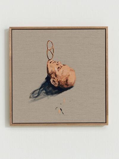 Marco Spitzar, 'brezelbalance on the beach (chin)', 2016