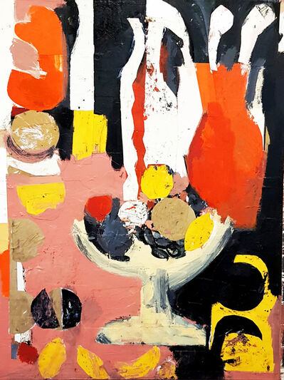 Mick Hutchings, 'The Orange Vase', 2020