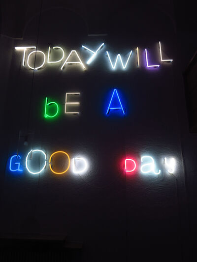 Emanuel Mooner, 'Today Will Be A Good Day', 2017