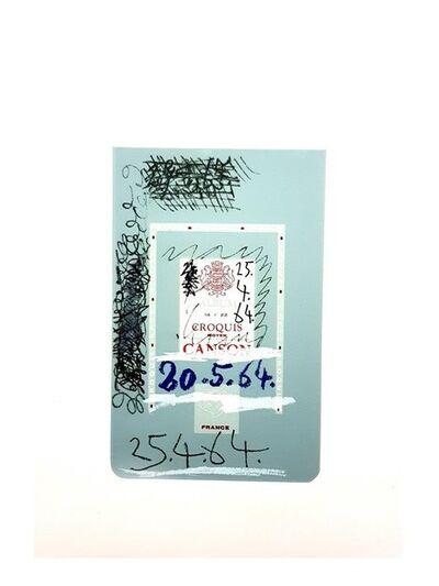 """Pablo Picasso, 'Lithograph """"Le Goût de Bonheur II"""" after Pablo Picasso', 1970"""