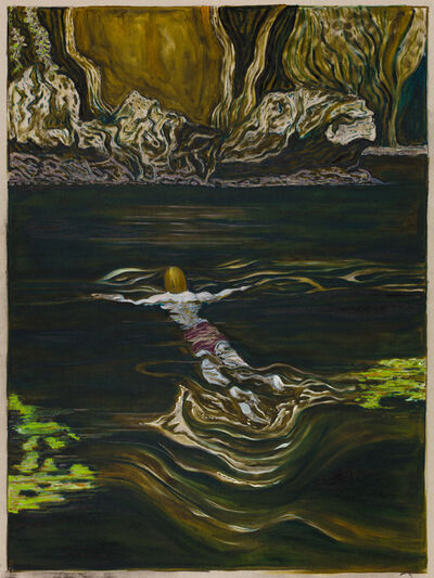 Billy Childish, 'toward a shore', 2019