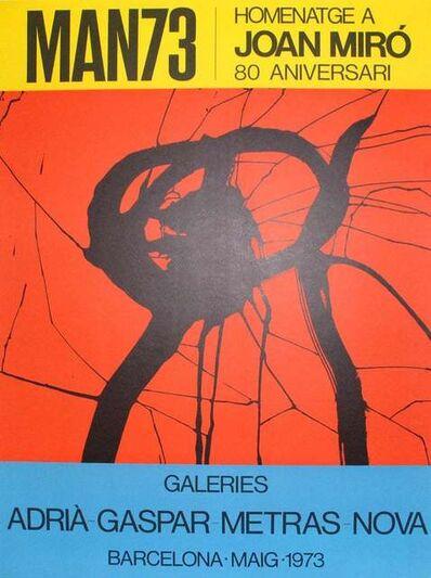 Joan Miró, 'MAN73', 1973