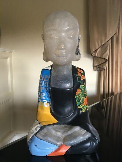dinh cong dat, 'Sitting Lotus Buddha I', 2015