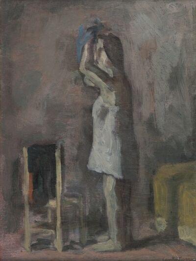 Domenico Cantatore, 'Donna al bagno'