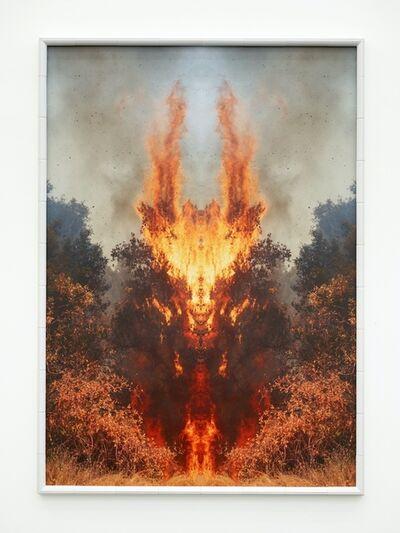 Julius von Bismarck, 'Fire with Fire #1', 2020