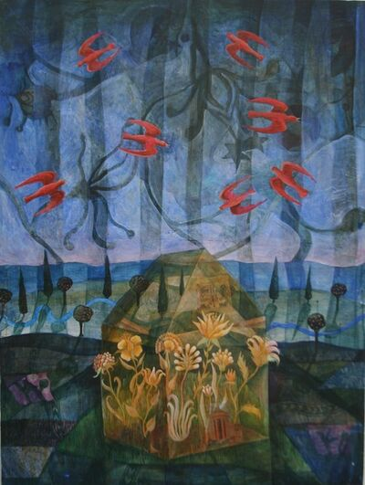 Julia Zanes, 'Red, Yellow, Blue', 2017