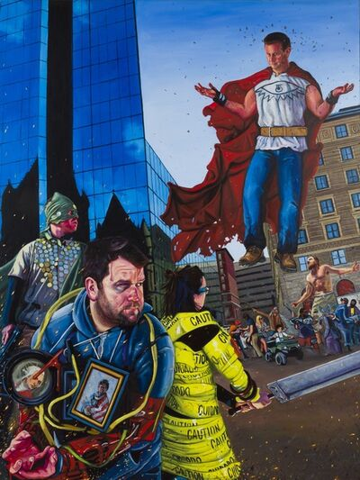 Paul Endres Jr., 'The Copley Endgame', 2014