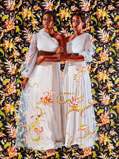 Kehinde Wiley, 'The Two Sisters', 2012